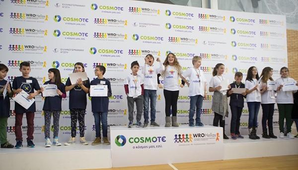 COSMOTE, ρομποτική, μαθητές δημοτικού
