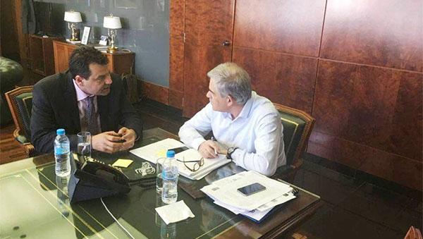 Χρήστος Παππούς, δήμαρχος Φυλής, Νίκος Τόσκας, αναπληρωτής υπουργός Προστασίας του Πολίτη, συνάντηση, παραβατικότητα