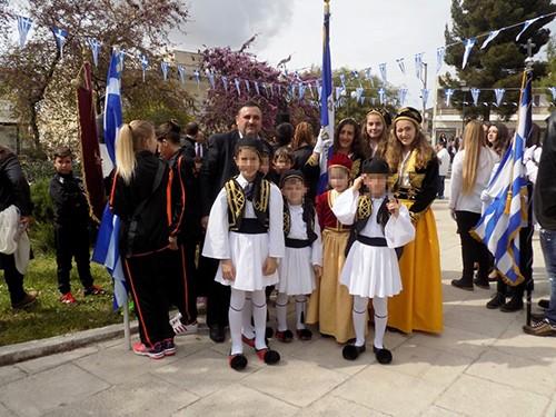 παρέλαση, 25η Μαρτίου, Ζεφύρι, Φυλή, Χασιά, δήμος Φυλής