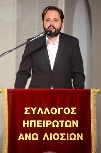 Χρήστος Ρούσσας, υποψήφιος, εκλογές, αρχαιρεσίες, Πανηπειρωτική Συνομοσπονδία Ελλάδος, πρόεδρος, σύλλογος Ηπειρωτών Άνω Λιοσίων
