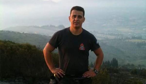 Στράτος Βερβερίδης, εποχικός πυροσβέστης