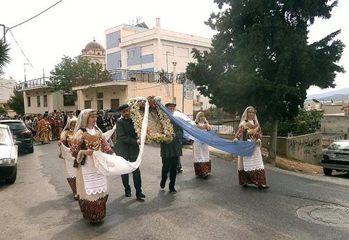 Άγιος Γεώργιος, Καματερό, πολιούχος, εορτασμός
