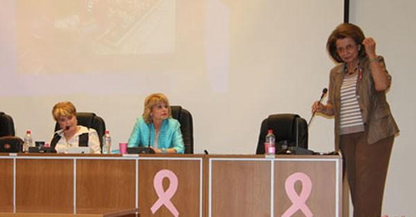 καρκίνος του μαστού, Λυδία Ιωαννίδου Μουζάκα, εκδήλωση, δημαρχείο Φυλής, δήμος Φυλής