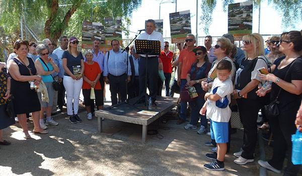 Νικος Ζενετος, δημαρχος Ιλιου, δημος Ιλιου, παρκο Τριτση, συγκεντρωση, κινητοποιηση, διαμαρτυρια
