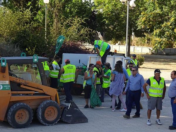 παρκο Τριτση, καθαρισμος, δημος Ιλιου, ΑΣΔΑ, Νικος Ζενετος, δημαρχος Ιλιου