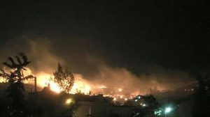 Δροσούπολη, Άνω Λιόσια, πυρκαγιά, φωτιά, Αχαρνές