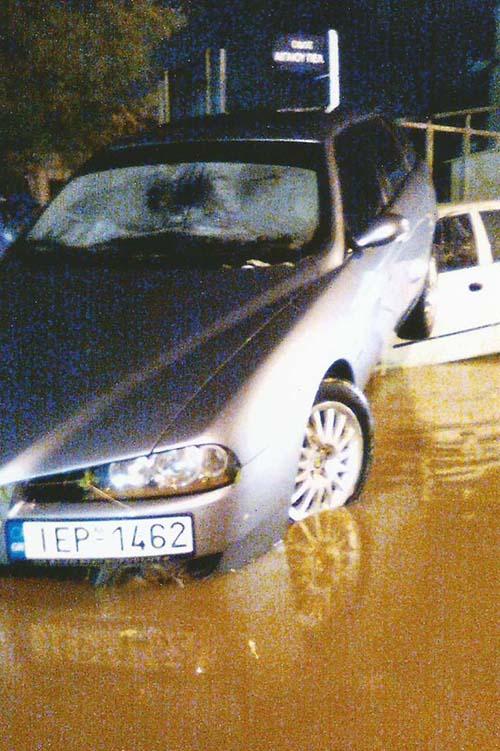 πλημμύρες, Άνω Λιόσια, δήμος Φυλής