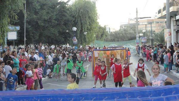 ΔΑΣ Ζεφυρίου, street handball, handball