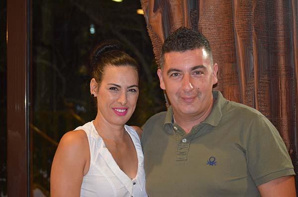 Ένα αγαπημένο ζευγάρι! Ντίνα Κοκκόρια - Κώστας Παπαϊωάννου
