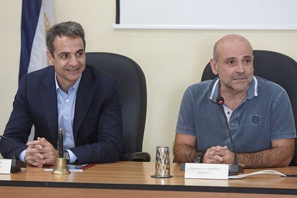 Γιώργος Σταματάκης, πρόεδρος, Ένωση Αστυνομικών Υπαλλήλων Δυτικής Αττικής, παραβατικότητα, Κυριάκος Μητσοτάκης, Ελευσίνα, περιοδεία