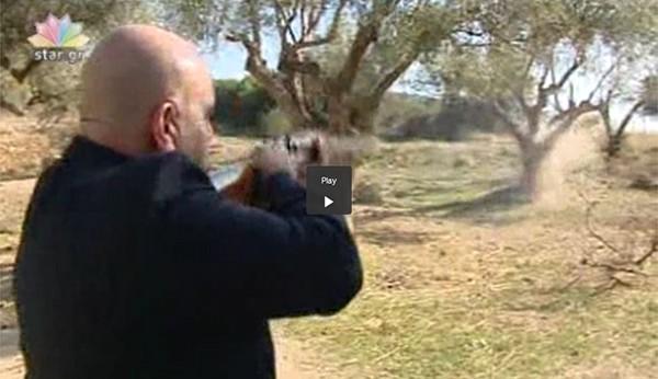 Σπύρος Μπρέμπος, αντιδήμαρχος Φυλής, πυροβολισμοί
