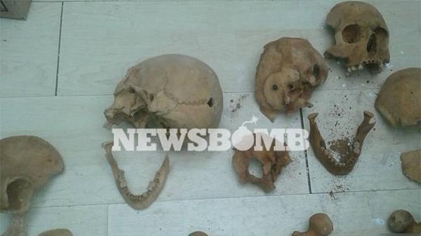ανθρώπινος σκελετός, θαμένος, Άνω Λιόσια, αρχαιολογική ανασκαφή