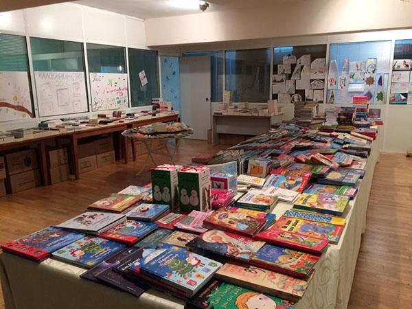βιβλιοθήκη, Πνευματικό Κέντρο Θρακομακεδόνων, εγκαίνια