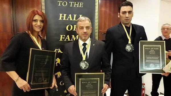 Παναγιώτης Παλαιολόγου, Τάε Κβον Ντο, Hall of Fame, μαχητικών αθλημάτων