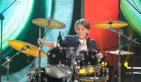 Παναγιώτης Γεωργίου, Junior Music Star, κρουστά