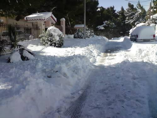 Θρακομακεδόνες χιόνι