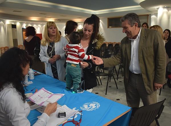 εμβολιασμός, παιδιών, 'Ιλιον, δήμος Ιλίου, UNICEF, Ολυμπιακός