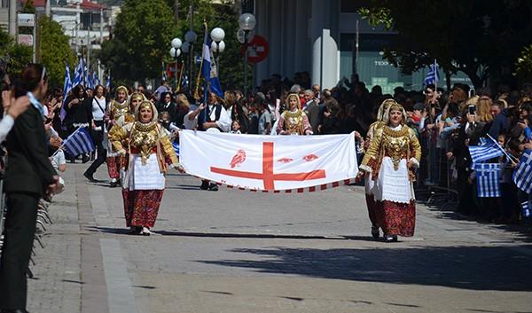 μαθητική παρέλαση, Άνω Λιόσια, 25η Μαρτίου 2017, δήμος Φυλής