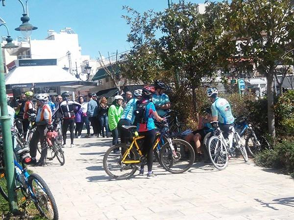 ποδηλατοπορεία, ΔΥΤΙΚΟ ΜΕΤΩΠΟ, ΧΥΤΑ Φυλής