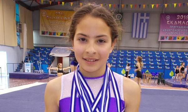 doxthi.gr|Βασιλική Καβαθά, ενόργανη γυμναστική, ΓΑΣ Ειρήνης Περιστερίου