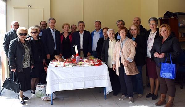 δήμος Ιλίου, πασχαλινό τραπέζι, Νίκος Ζενέτος
