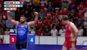 Αλέξανδρος Παπαδάτος, χρυσό μετάλλιο, Ολυμπιακούς Αγώνες Κωφών 2017, Σαμψούντα