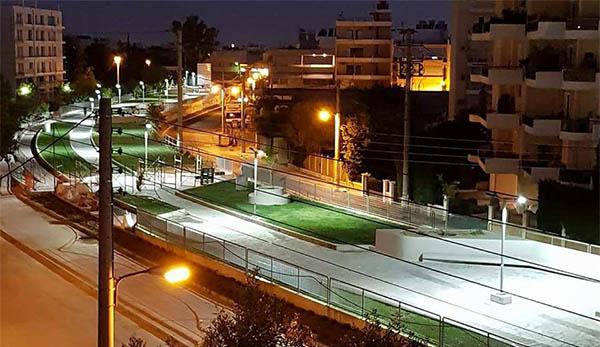 ρέματος Εσχατιάς, οδός Φλέβα, Ίλιον