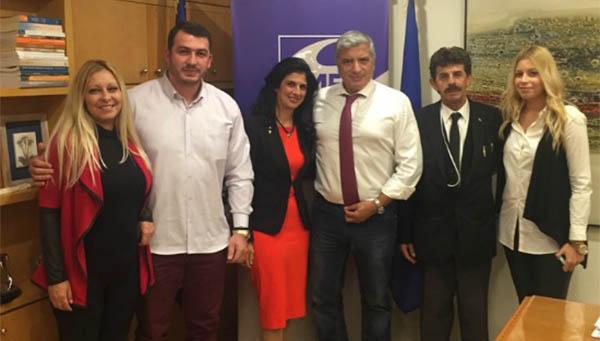 πρόεδρος των Ελλήνων Ρομά, Γιώργος Πατούλης, ΚΕΔΕ