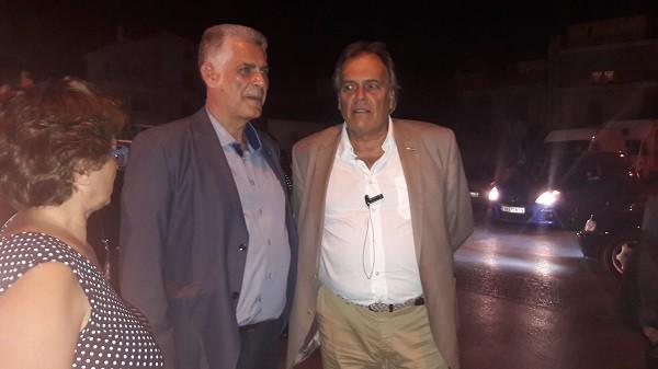 Ανδρέας Νεφελούδης, Οδυσσέας Καμπόλης και Αθηνά Περράκη