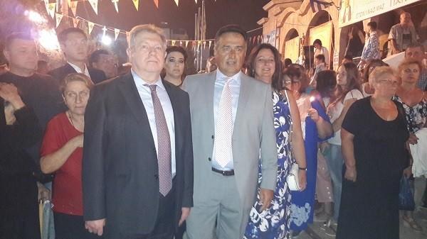Αλεξέι Βολκόβ και Γιάννης Κασσαβός