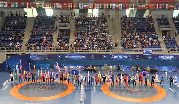 Παγκοσμίου Πρωταθλήματος Πάλης Παίδων – Κορασίδων, Ολυμπιακό στάδιο Πάλης, Άνω Λιόσια