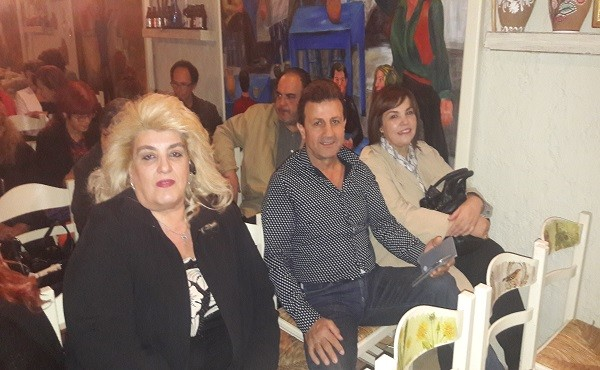 Ελένη Γκίκα, Παναγιώτης Γρηγοριάδης και Χρυσούλα Φωτιάδη-Παγώνα