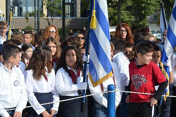 μαθητική παρέλαση, 28η Οκτωβρίου 2017, Άνω Λιόσια