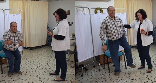 Πρόγραμμα Πρόληψης των Πτώσεων στην Τρίτη Ηλικία, δήμος Ιλίου