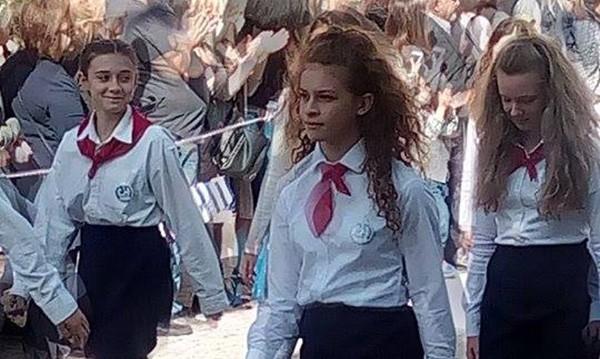 μαθητική παρέλαση, Άνω Λιόσια, 28η Οκτωβρίου 2017