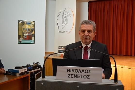 Dimarxos Iliou Nikos Zenetos
