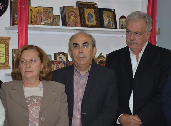 Ιωάννα Σπυρίδωνος Πίνη, Κυριάκος Χατζηλέρης, Δημήτρης Μπουραΐμης