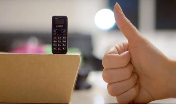 μικρότερο κινητό τηλέφωνο