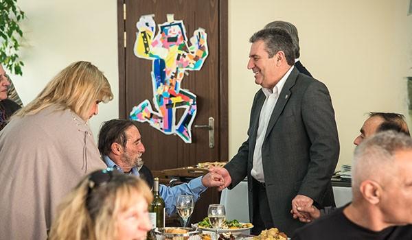 ορφανοτροφείο Αγίας Τριάδος, δήμος Ιλίου, γεύμα αγάπης