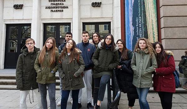 """Στη Σόφια το πρόγραμμα """"Ψηφιακά παιχνίδια"""" μαθητών από το 1ο λύκειο Ιλίου"""