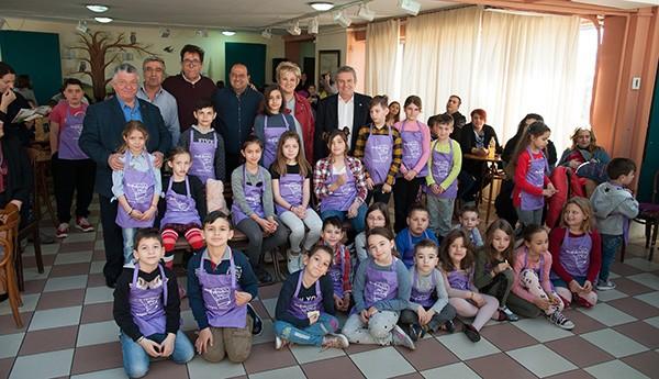 Μεγάλη η συμμετοχή στην 5η Γιορτή Παιδικής Μαγειρικής