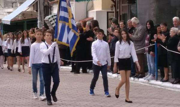 παρέλαση, επέτειο της 25ης Μαρτίου, Φυλή, Χασιά