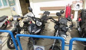 τμήμα Ασφάλειας Άνω Λιοσίων, σπείρα, μοτοσυκλέτες