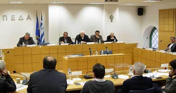 ΠΕΔΑ, γενική συνέλευση, Νίκος Σαράντης