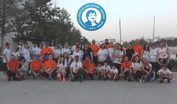 """Νικητής στο 2ο φιλανθρωπικό αγώνα """"No Finish Line Athens"""" ο σύλλογος Θεσσαλών Φυλής"""
