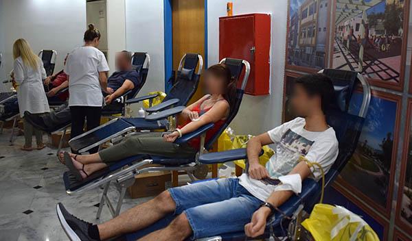εθελοντική αιμοδοσία, δήμου Ιλίου