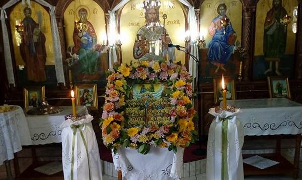 Τη μνήμη των Αγίων Πάντων γιόρτασε ο Ιερός Ναός Αγίου Στυλιανού Ζεφυρίου
