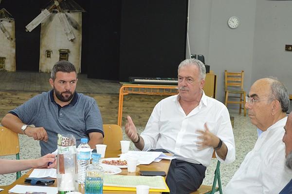 Δημήτρης Μπουραΐμης, ΑΙΓΕΑΣ, σύνδεσμος Αιγαιοπελαγίτικου πολιτισμού, δήμου Φυλής