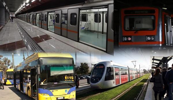 Χειρόφρενο με στάσεις εργασίας αύριο Πέμπτη σε μετρό, λεωφορεία και τρόλει