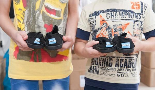 Ένωση «Μαζί για το Παιδί», TOMS, παπούτσια, δήμος Ιλίου